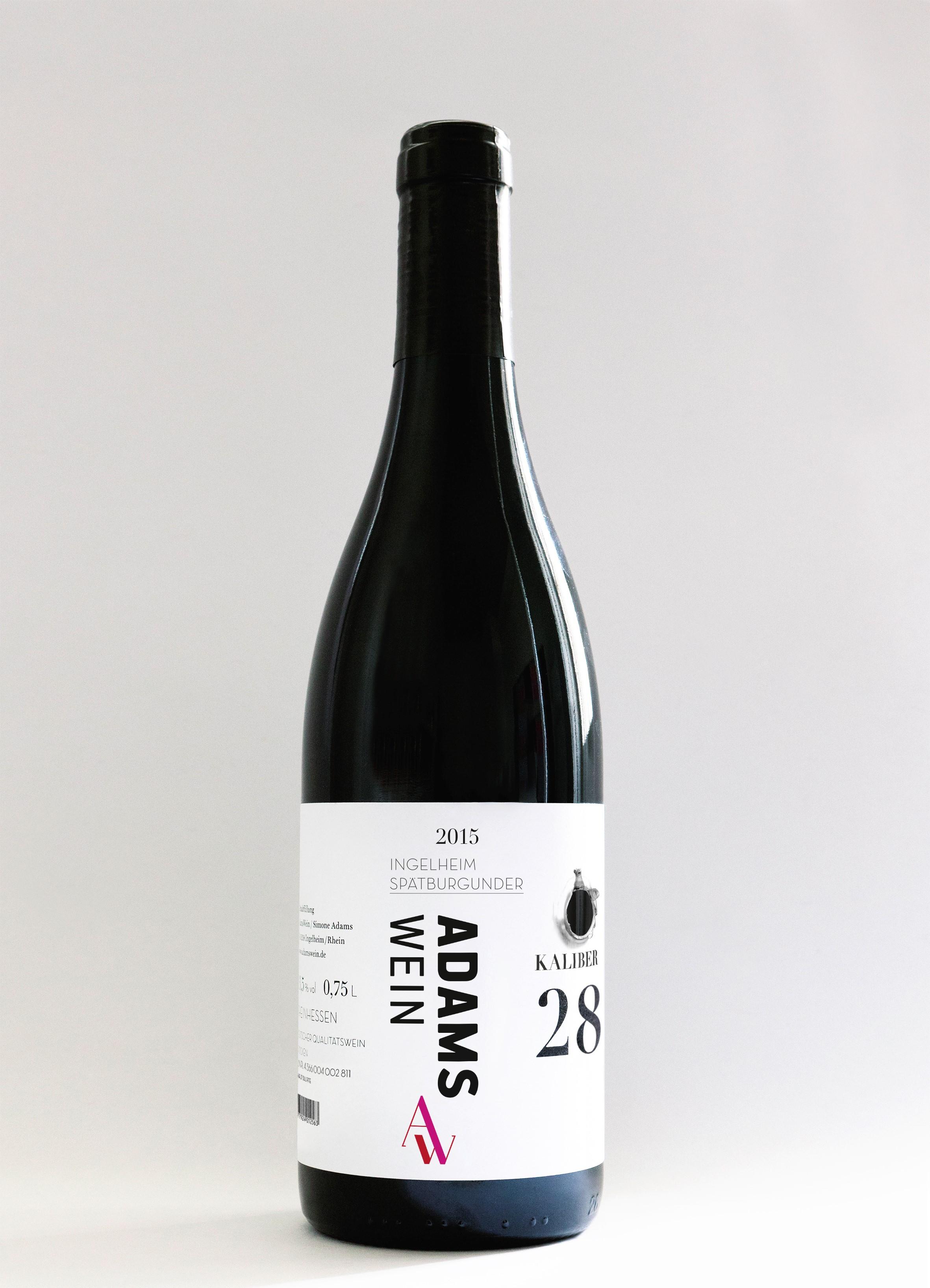 ADAMS-Wein   Kaliber 28 - Spätburgunder Ingelheim